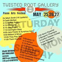 *Paseo Arts Festival at The Twisted Root Art Gallery* @ Twisted Root Gallery